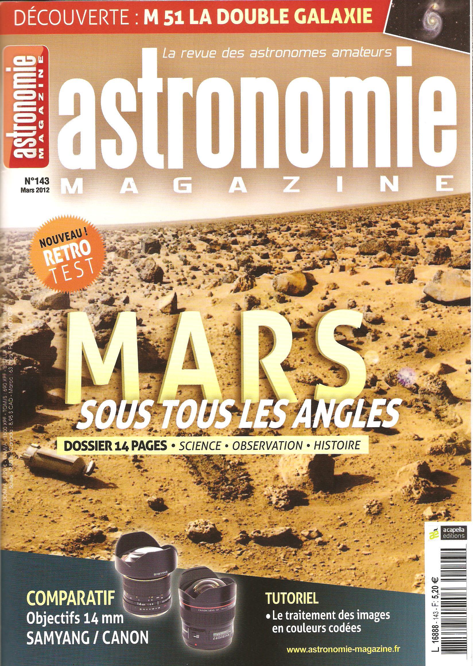 Revue Astronomie Magazine