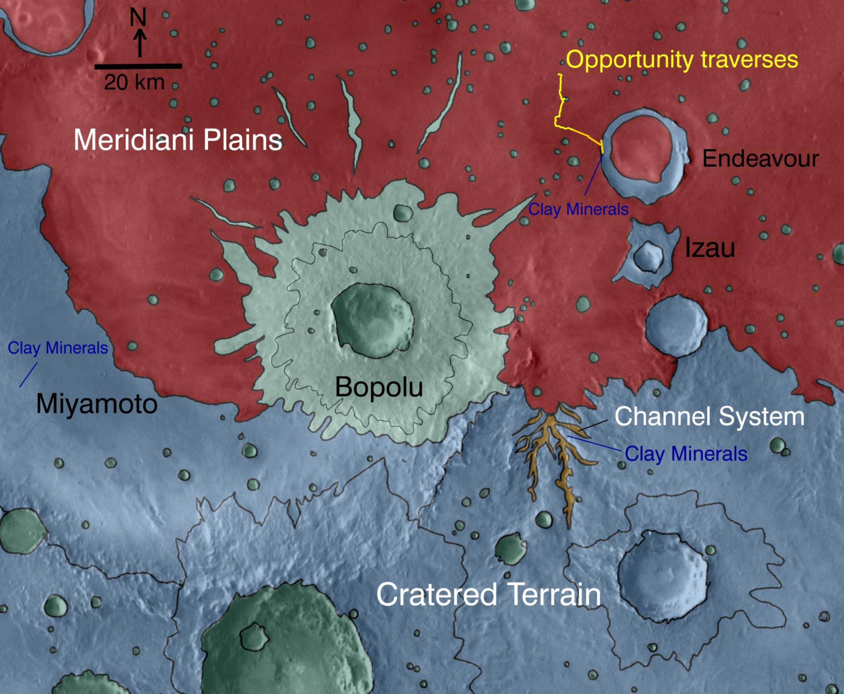 meridiani_planum_pia13704 trajet Opportunity