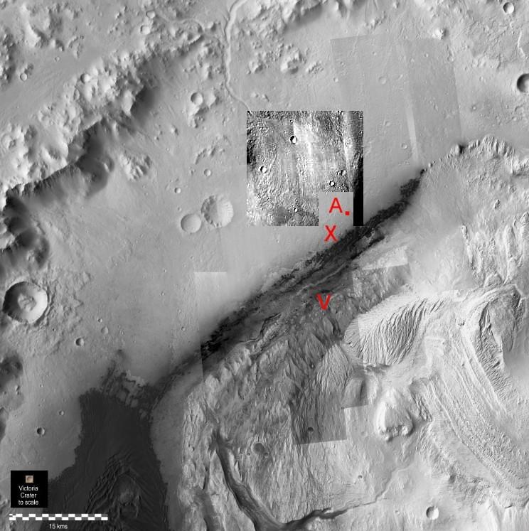 gale-par-hirise-et-position-curiosity-11-décembre et éventail