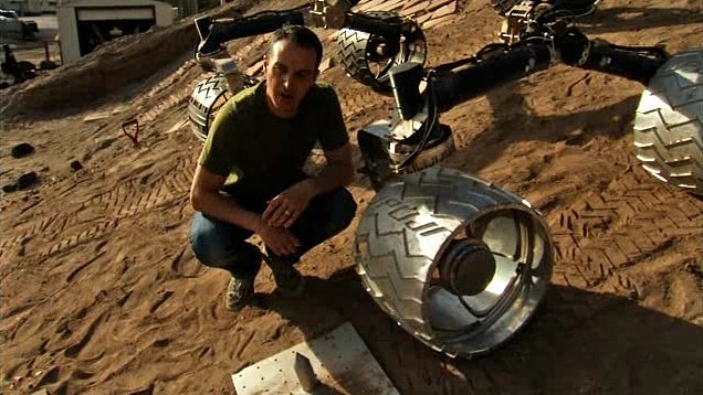 test roues Curiosity