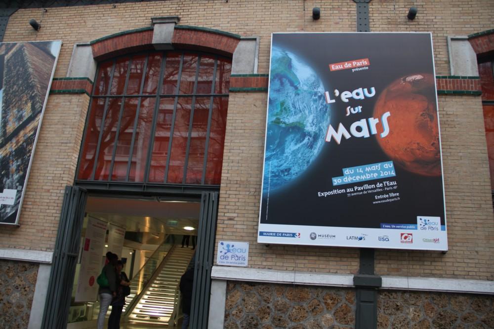 14 03 13 - 18h 30m 44s - inauguration expo l'eau sur mars r