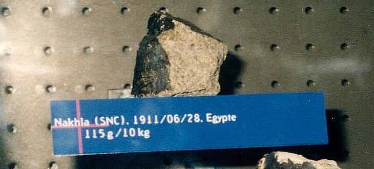 météorite Nakhla