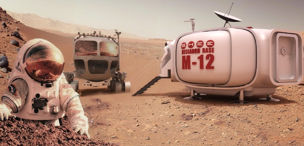 SHEE sur Mars
