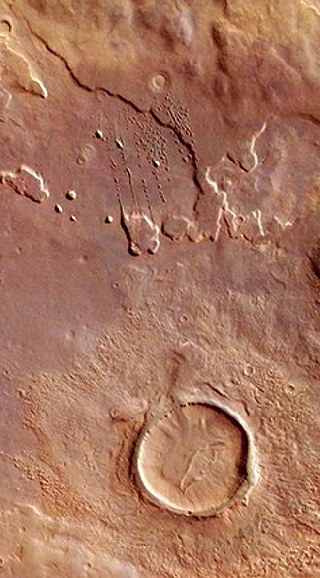 Intérieur du grand cratère