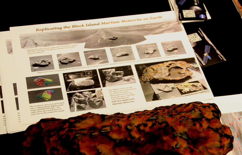 météorite répliquée