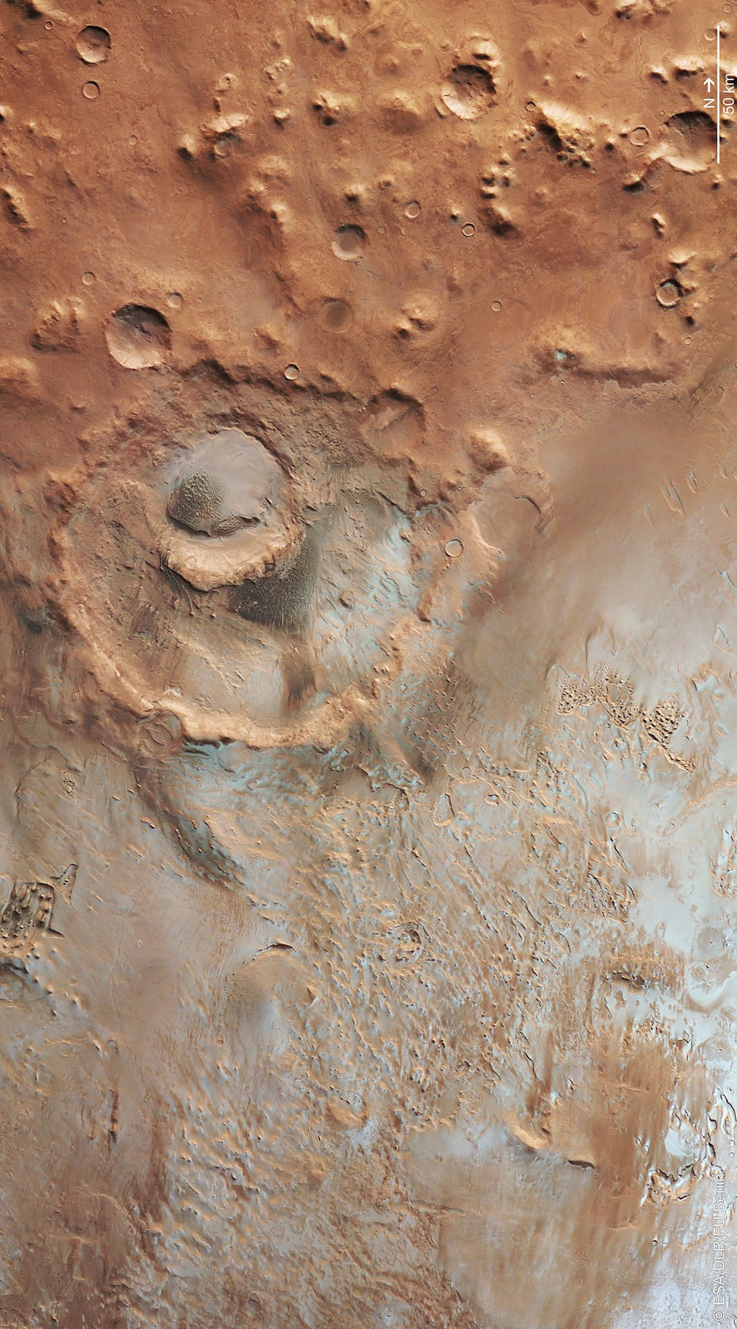 Hooke_crater_in_Argyre_basin
