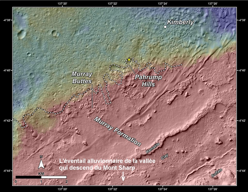 nasa-msl-curiosity-rover-gale-crater-topographic-map-pahrump-hills-pia18474-br2 renseigné