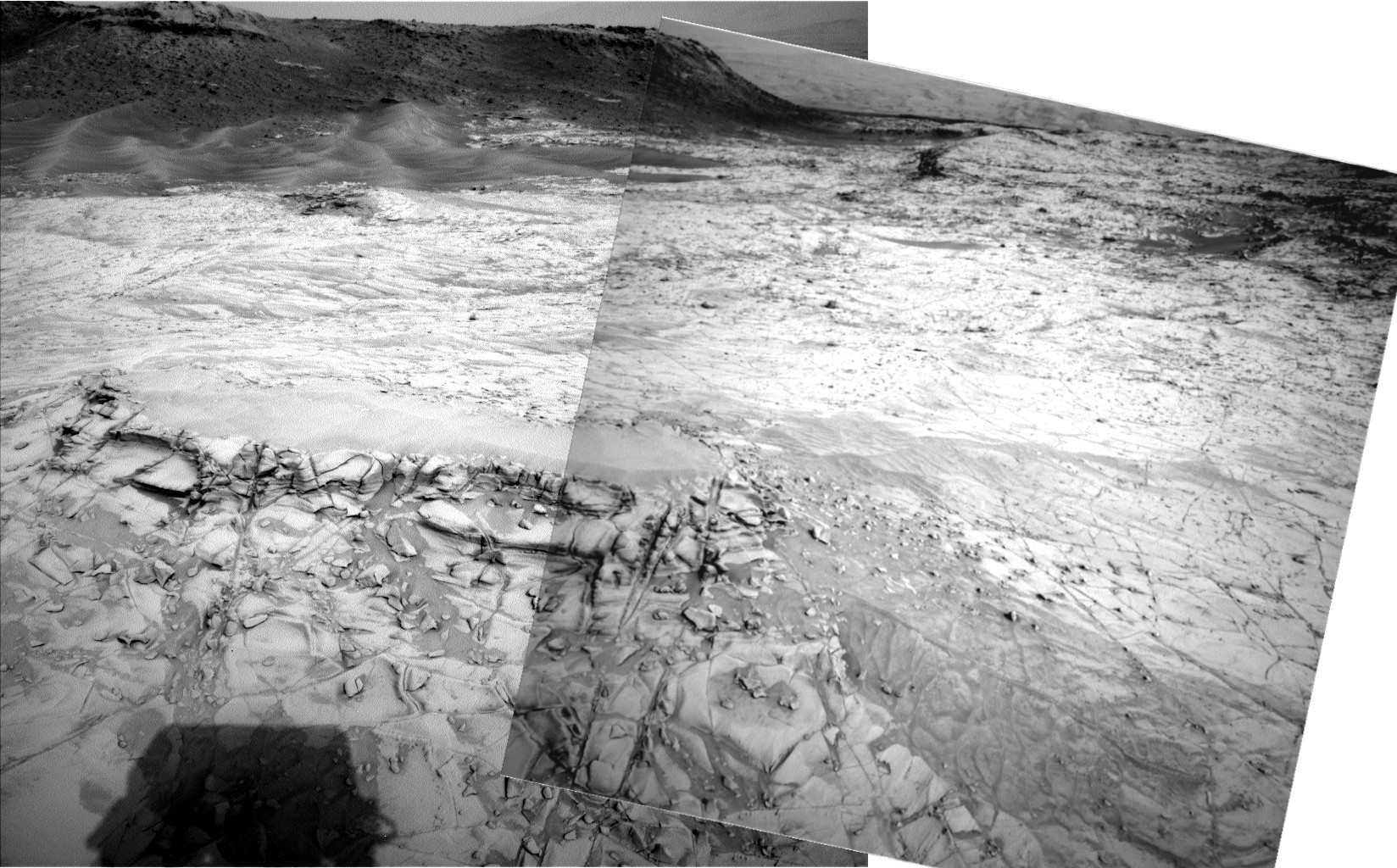 Montage navcam left 21 oct 2