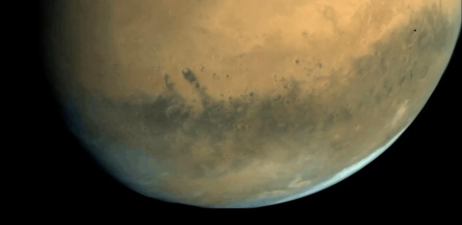 Vidéo ISRO Phobos