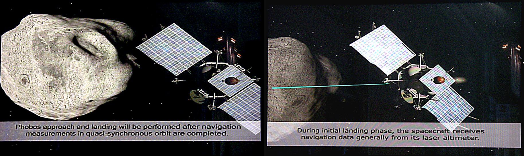 Approche Phobos Grunt 1