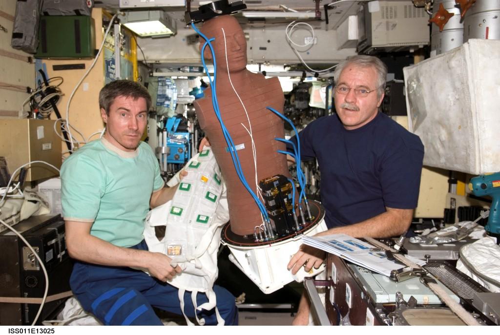 Matroshka à bord de l'ISS