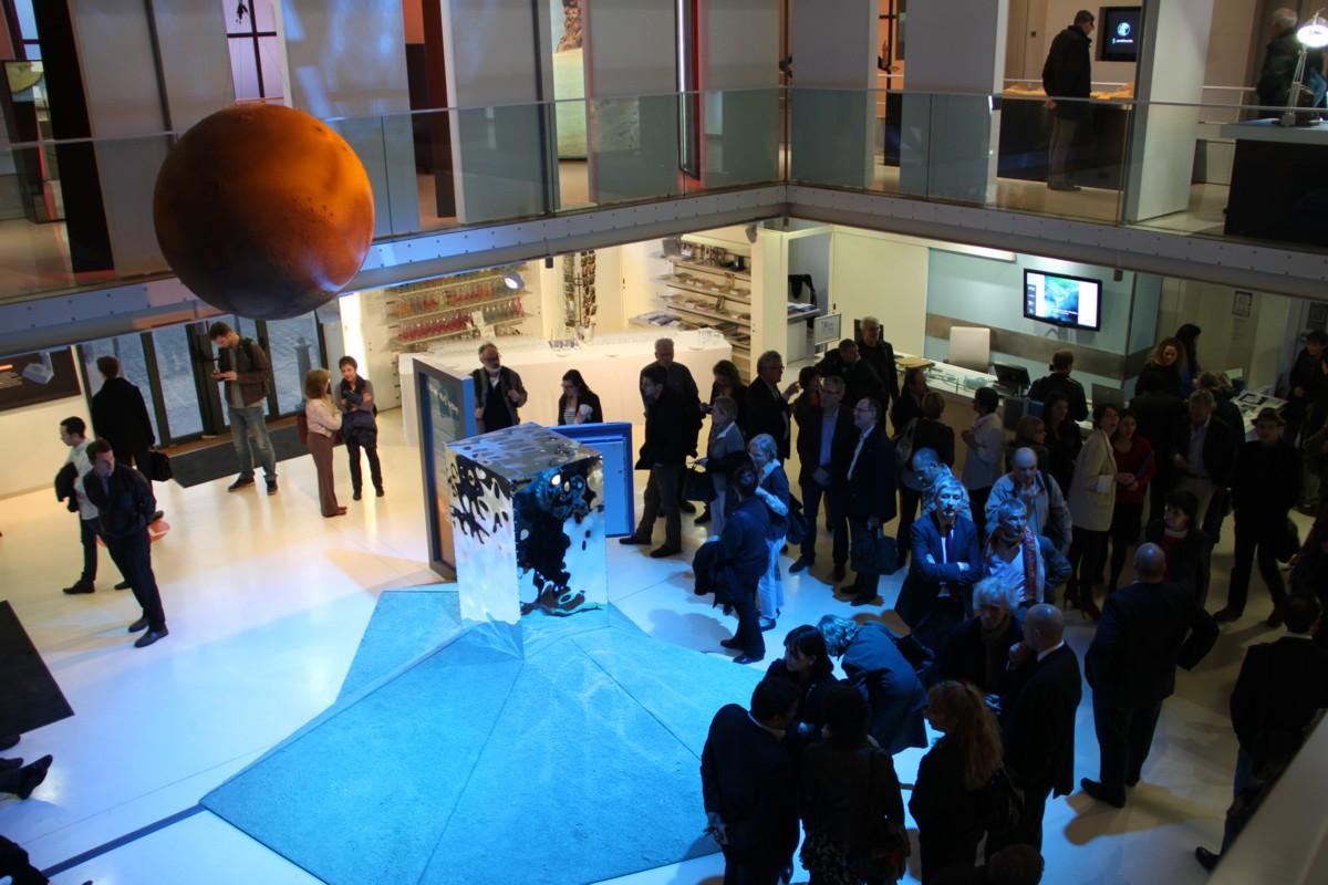 14 03 13 - 18h 36m 17s - inauguration expo l'eau sur mars r