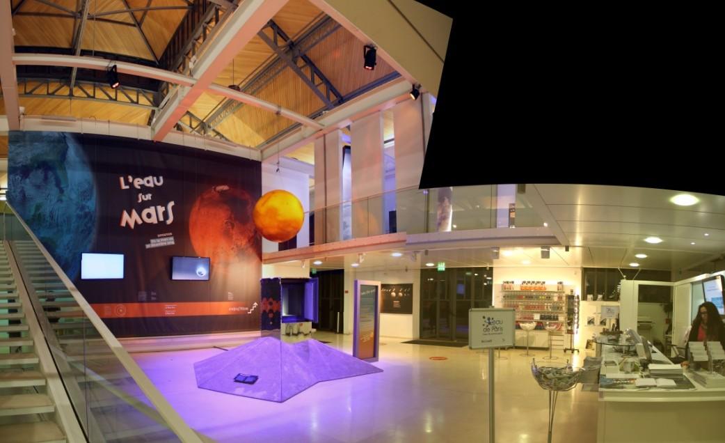 14 12 18 - 17h 25m 19s - Expo l'eau sur Mars pavillon de l'eau_stitch tr