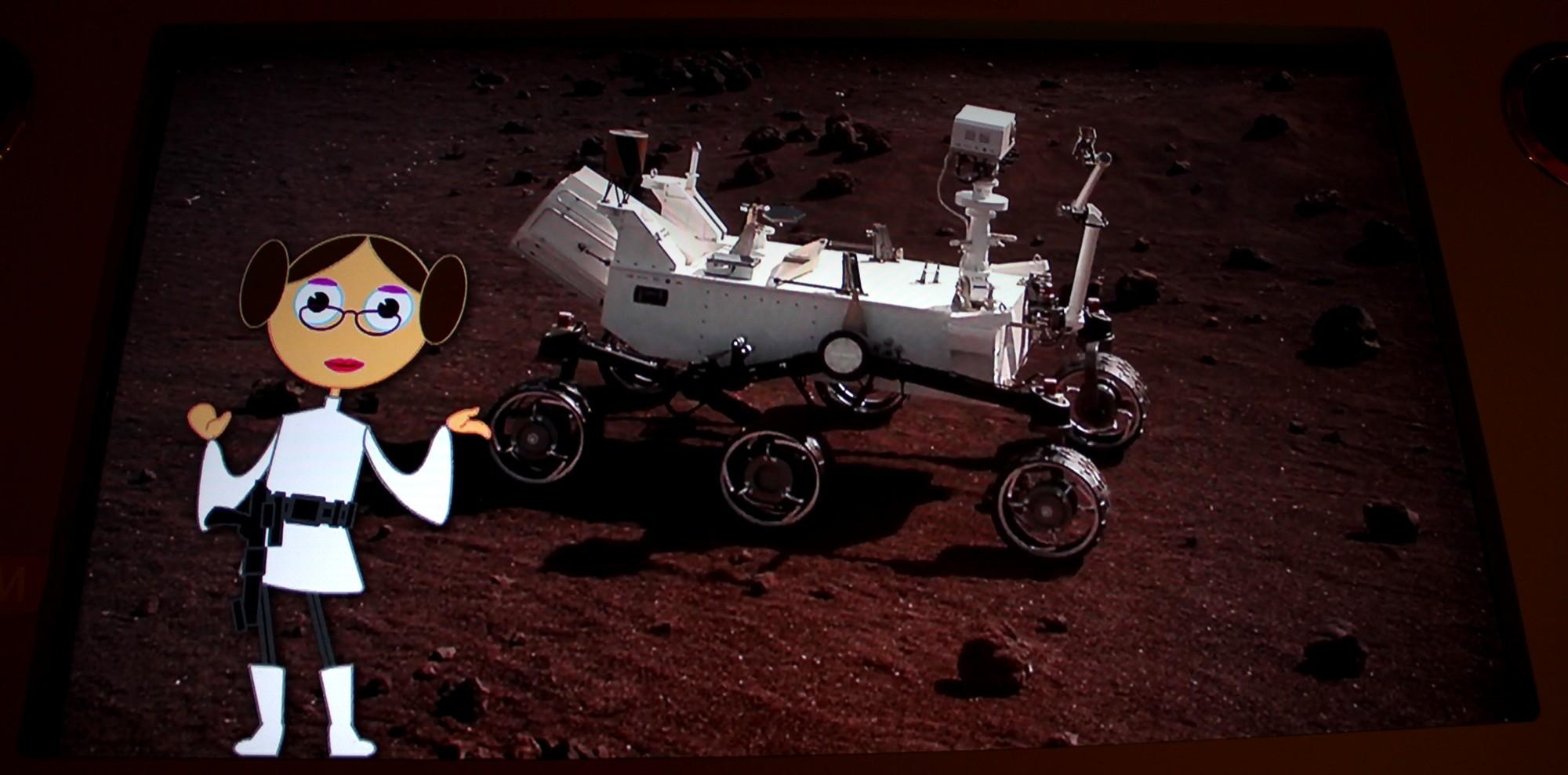 14 12 18 - 17h 42m 57s - Expo l'eau sur Mars pavillon de l'eau r