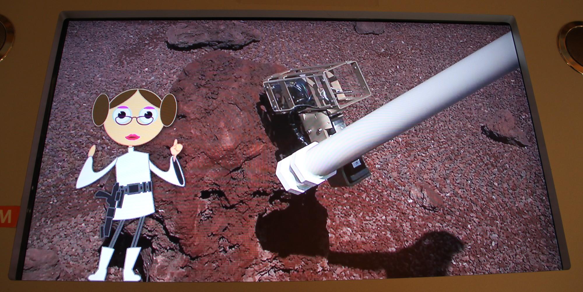 14 12 18 - 17h 43m 00s - Expo l'eau sur Mars pavillon de l'eau r