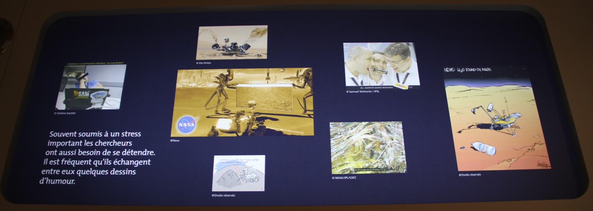 14 12 18 - 17h 43m 49s - Expo l'eau sur Mars pavillon de l'eau r