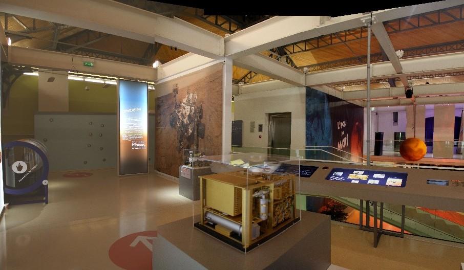 14 12 18 - 17h 44m 39s - Expo l'eau sur Mars pavillon de l'eau stitch
