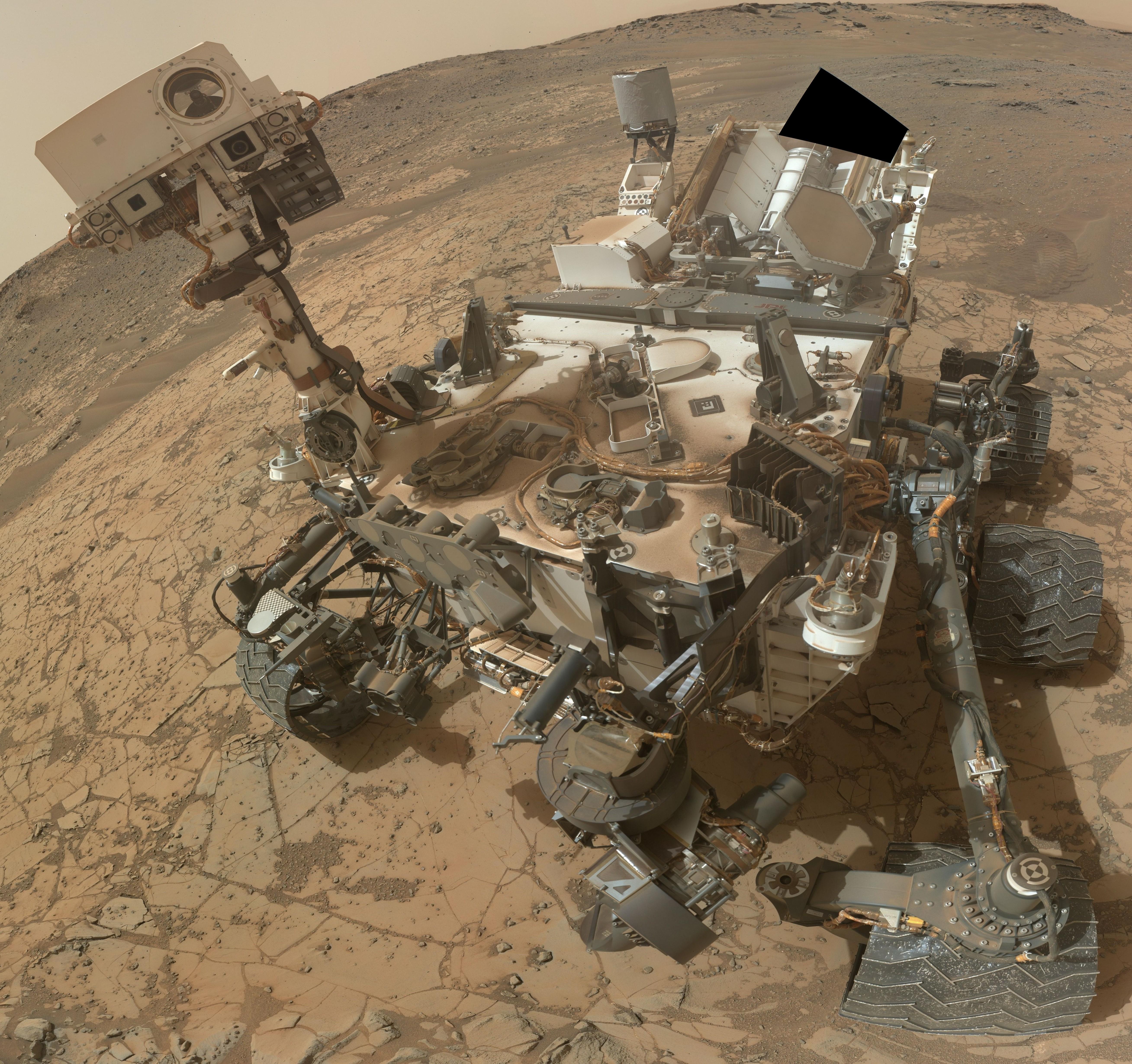 Zoom sur le rover